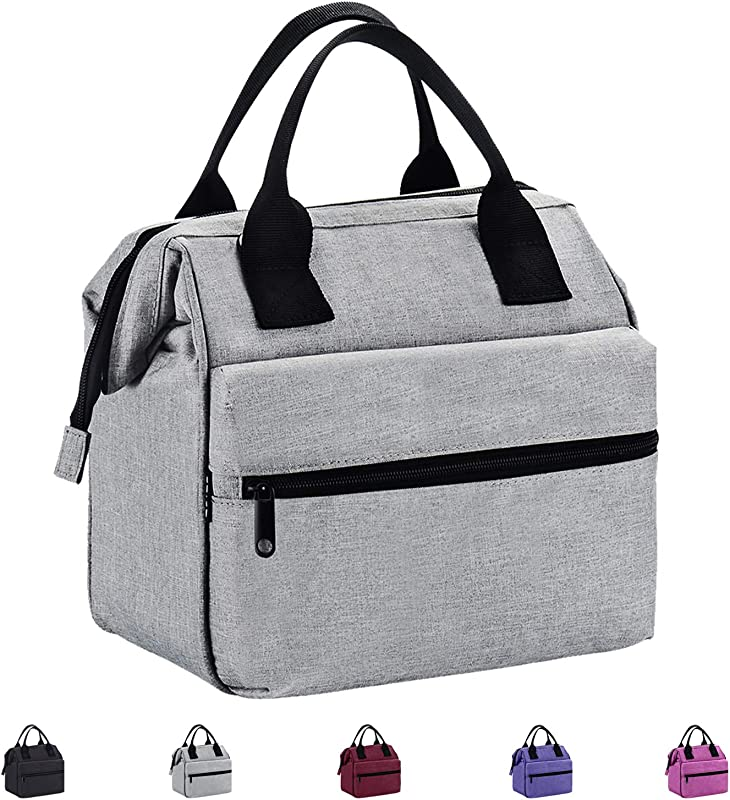 Srise Lunch Box Insulated Lunch Bag For Men Women Meal Prep Lunch Tote Boxes
