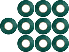 Sunlite E174 Green Electrical Tape, 10 Pack, Ten