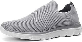 Kuzima Men's Light Air-Permeable Mesh Flying Weaving Sports Shoes