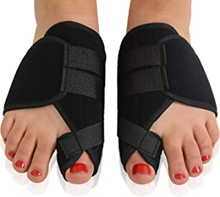 Bunion Corrector, Orthopedic Bunion Splint, Big Toe Separator Pain Relief, Non-Surgical Hallux Valgus Correction, Hammer Toe Straightener, Day Night Support