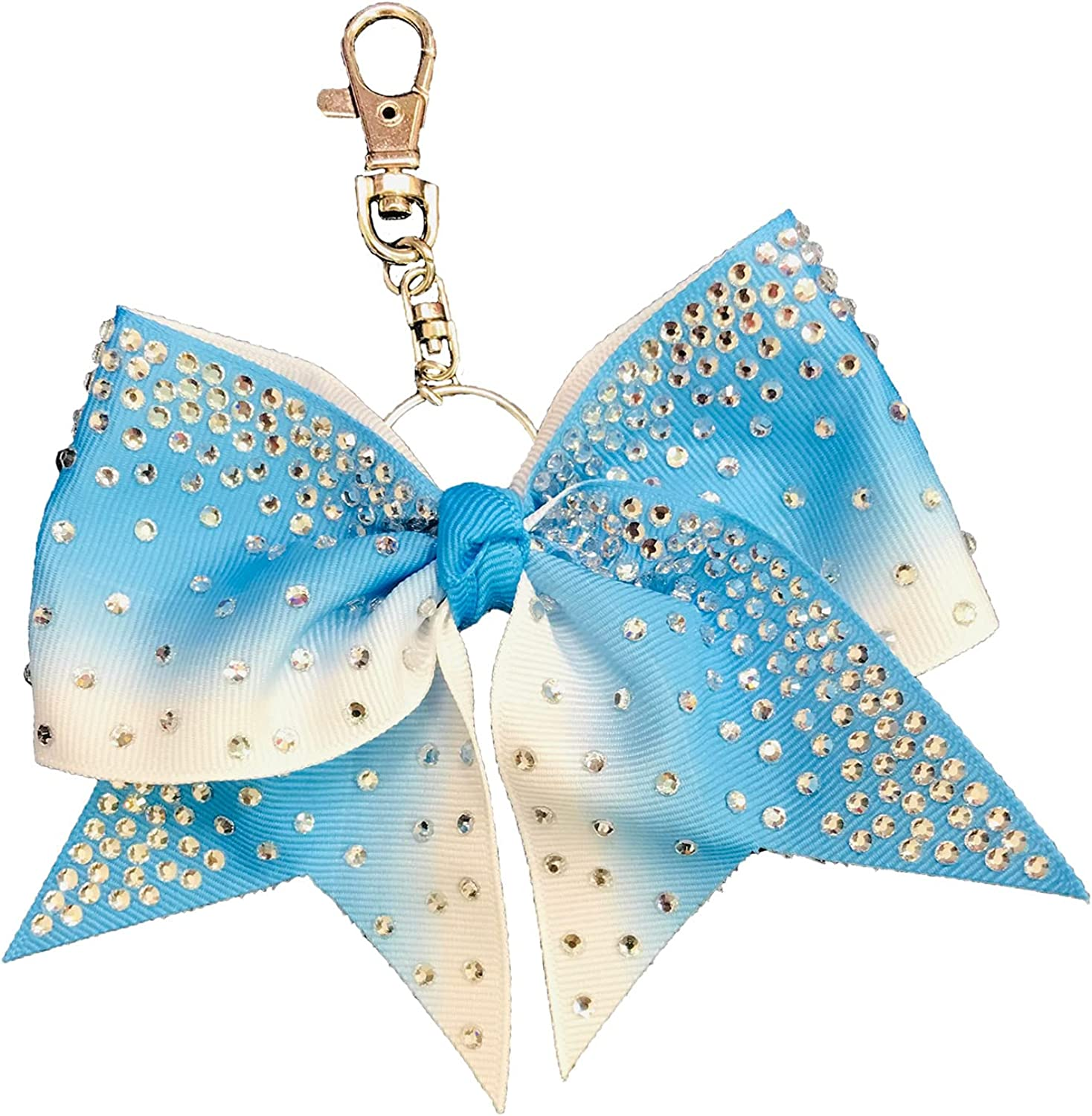 The Ultimate Bow - Brand new High material Rhinestone Ombre Cheerleading chain A Key