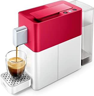 Cremesso Easy heart red & shell white rot-weiß Kapselmaschine