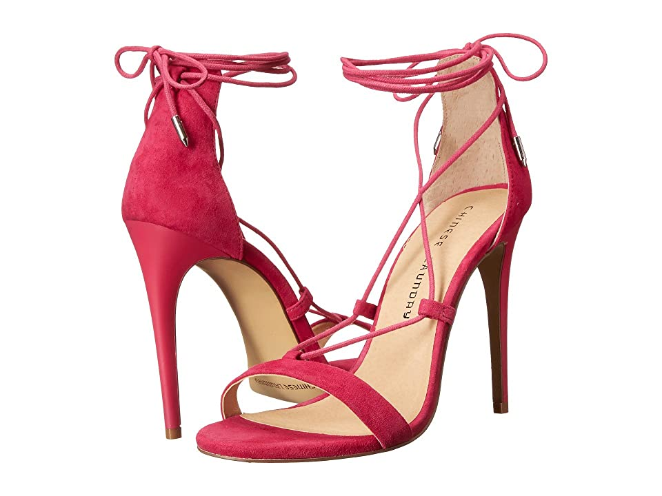 Chinese Laundry Jambi (Shocking Pink Kid Suede) High Heels