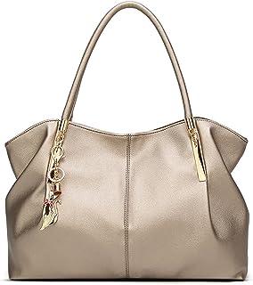 Tisdaini® Damenhandtaschen Mode Schultertaschen Shopper Umhängetaschen Golden