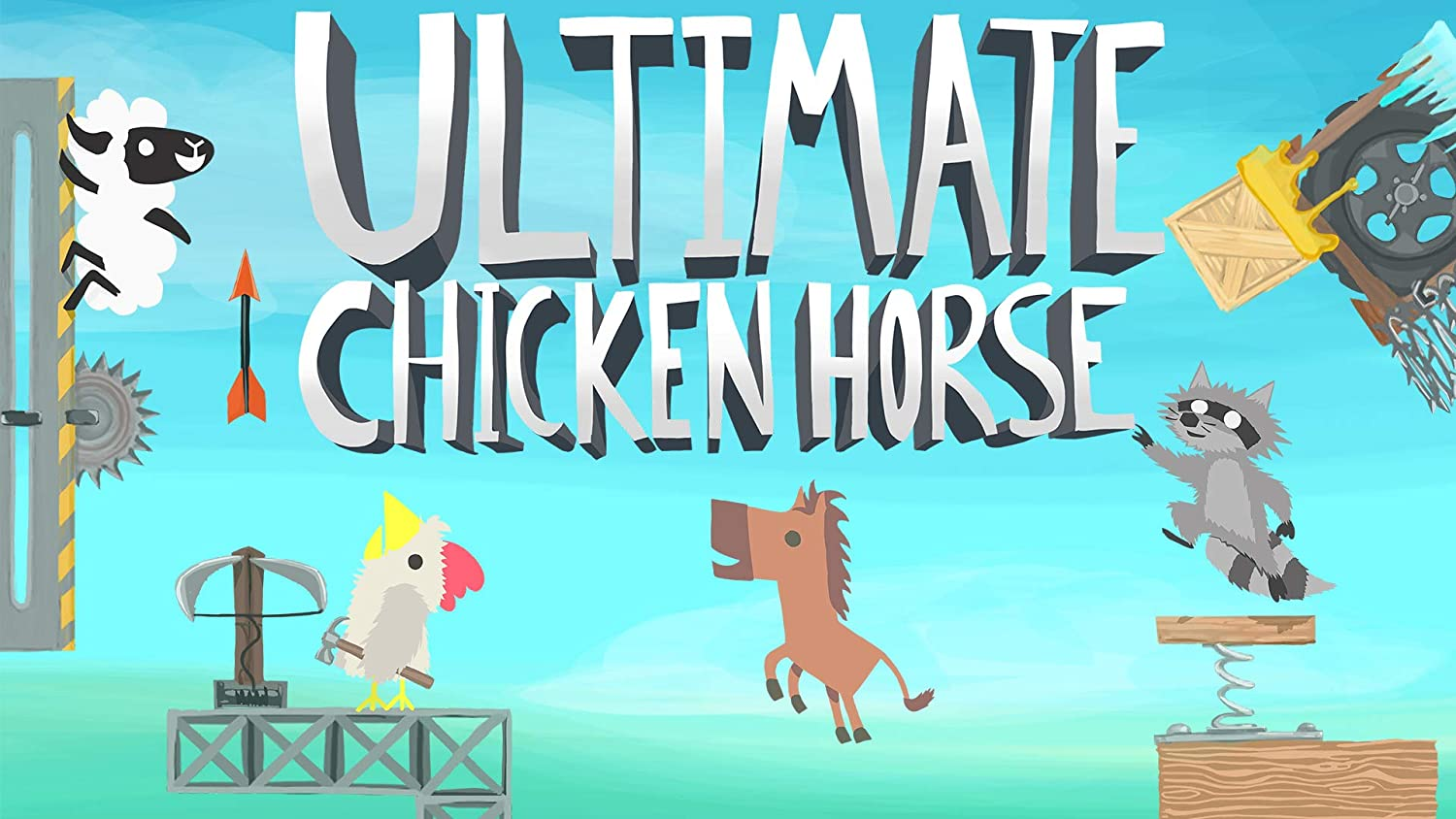 Ultimate Chicken Horse - Ranking TOP9 Code Digital Switch Nintendo Easy-to-use