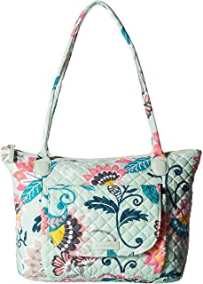 Vera Bradley Women's Signature Cotton Carson East West Tote Bag