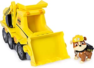 Paw Patrol Ultimate Rescue, Rubble's Ultimate Rescue Bulldozer with Moving Scoop & Lift-Up Dump Bed, For Ages 3 & Up