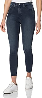 Calvin Klein womens High Rise Super Skinny Ankle Jeans (pack of 1)