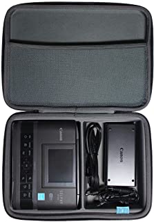 TUDIA EVA Case Compatible with Canon Selphy CP1200/CP1300 Compact Photo Printer, Hard Travel Carrying Case [CASE ONLY, Dev...