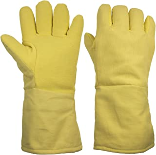 ThxToms 932°F Heat Resistant and Level 4 Cut Resistant Kevlar Work Gloves 15