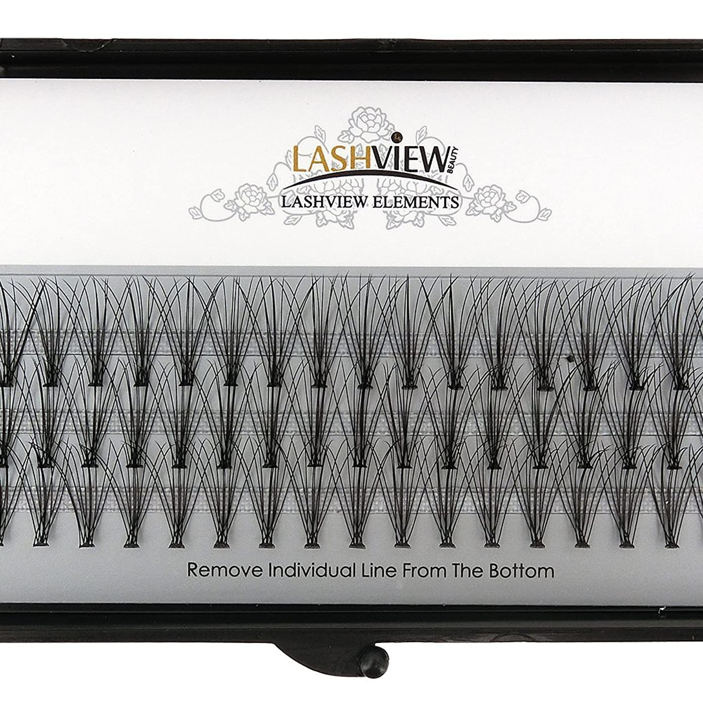 オセアニアフックケージLASHVIEW 高品質まつげエクステ太さ0.10mm Cカール フレア セルフ用 素材 10本束12mm マツエク