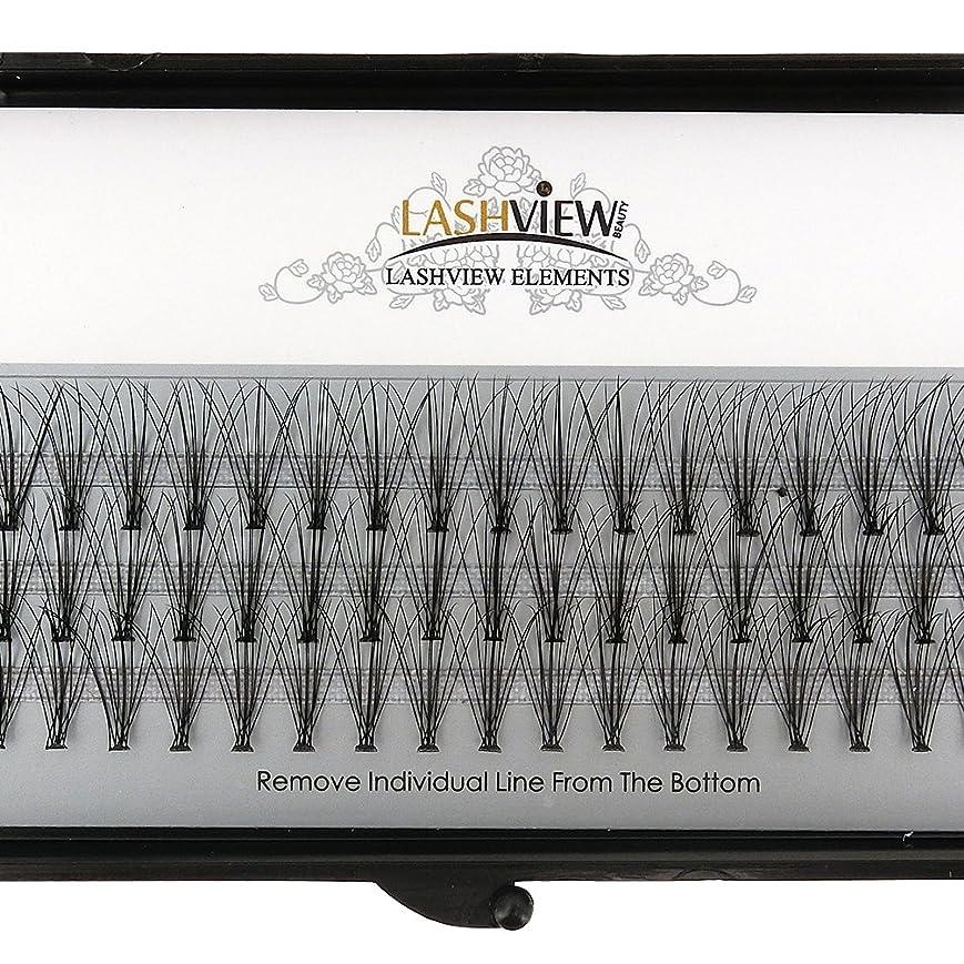 大西洋キャリッジ無限LASHVIEW 高品質まつげエクステ太さ0.10mm Cカール フレア セルフ用 素材 10本束12mm マツエク