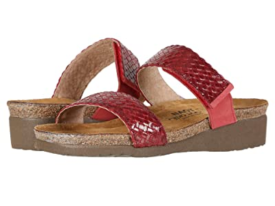 Naot Blake (Red Braid Leather) Women