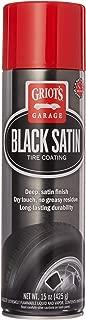 Griot's Garage 10951 Black Satin Tire Coating, 15 oz, 1 Pack