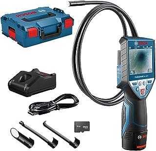 """Bosch Professional 12V System inspectiecamera GIC 120 C (12V-accu + oplader, kabellengte: 120 cm, display: 3,5"""", in L-BOXX)"""