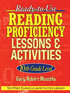 Ready-to-Use Reading Proficiency Lessons and Activities: 10th Grade Level