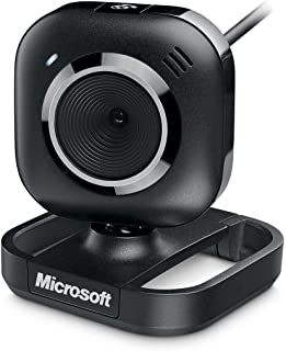 Microsoft LifeCam VX-2000 1.3MP (Interpolated) 3X Digital Zoom USB 2.0 Webcam w/Built-in Microphone & Laptop LCD Clip-On