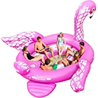 Sun Pleasure Giant Party Bird Island Flamingo Fast Speed Pump Included