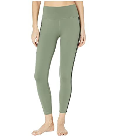 adidas Believe This Stripe 7/8 Tights (Legacy Green/Black) Women
