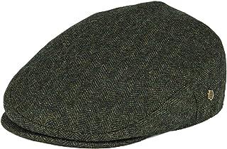 VOBOOM Men`s Herringbone Flat Ivy Newsboy Hat Wool Blend Gatsby Cabbie Cap