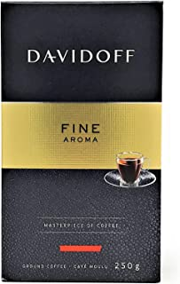 Davidoff Cafe Fine Aroma Ground Coffee, 8.8 Ounce Package (250 g)