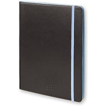 モレスキン タブレットケース バイカラー 7~8インチ ブルー MOUT8BIBLU