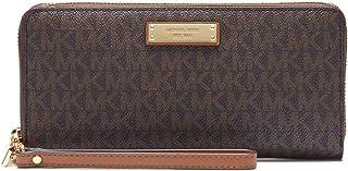 محفظة جت ست ترافل كونتيننتال للنساء من مايكل كورس، بني