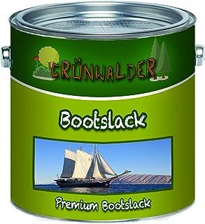 Verde walder Boot barniz para madera y metal Premium Yacht Poliuretano barniz para parquet reforzados Boot Color, color Anthrazitgrau (Ral 7016), tamaño 20 L