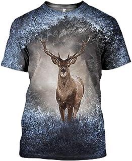 Printed Graphic T Shirts Novelty Crewneck