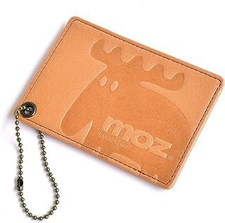 [モズ] moz パスケース レディース 本革 シンプル ICカード入れ ボールチェーン付き mlb 【NO.86004】
