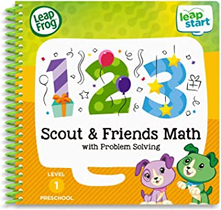LeapFrog LeapStart 3D Scout & Friends Math Book