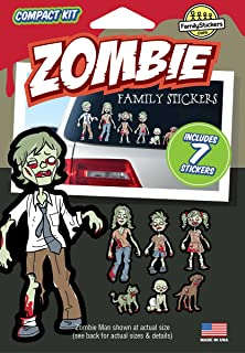 WMI Designs (12055) Zombie Family Stickers Compact Kit (7)