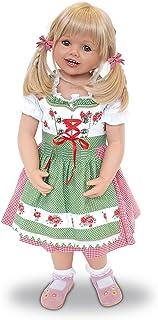 The Ashton-Drake Galleries Louisa Lifelike Child Doll by Monika Peter-Leicht: Authentic Bavarian Costume