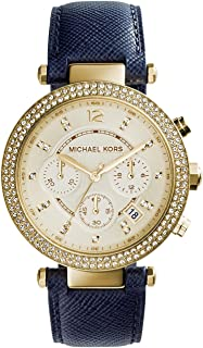 Michael Kors Casual Watch For Women Analog Leather - MK2280