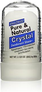 Thai Deodorant Stone Pure and Natural Crystal Mini Stick, 2.125 Ounce