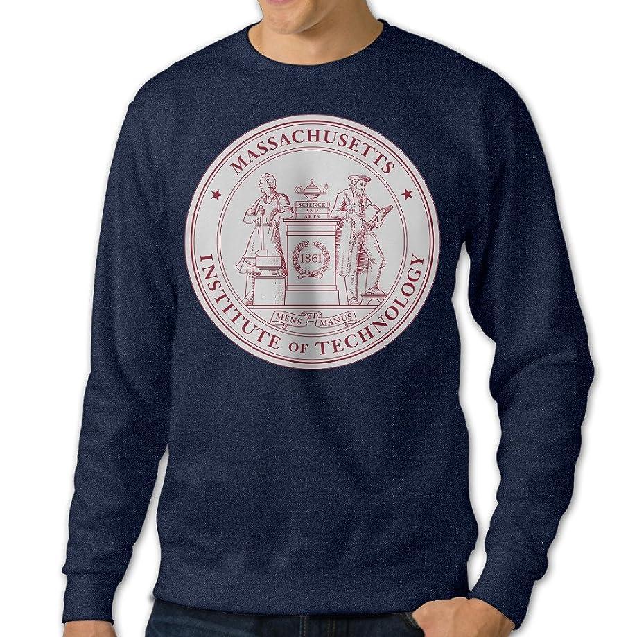 ESSES Massachusetts Institute Of Technology MIT Seal Mens Crew-Neck Sweatshirt Navy