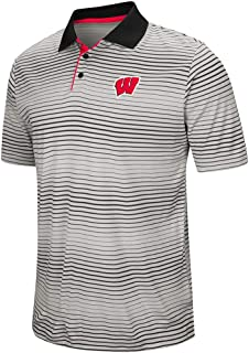 Mens Wisconsin Badgers Polo Shirt