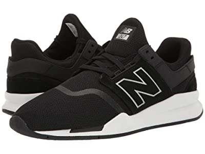 New Balance Classics MS247v2 (Black/Munsell White) Men