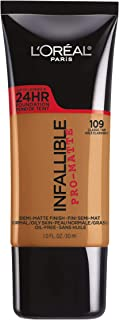 L'Oréal Paris Infallible Pro-Matte Liquid Longwear Foundation, Classic Tan, 1 fl. oz.