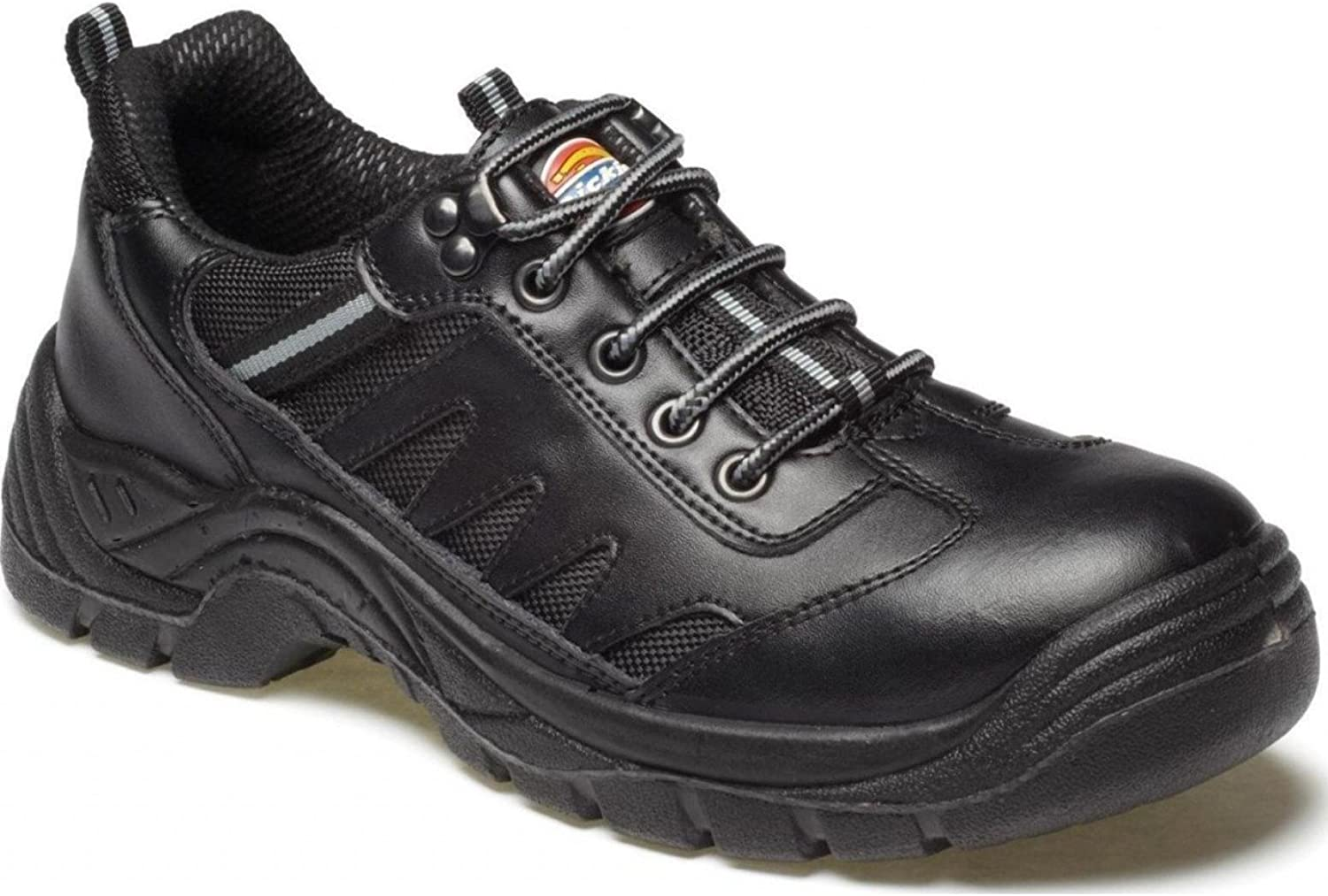 Dickies FA13335–9Stockton Super Safety Trainer, Gre 9, Schwarz