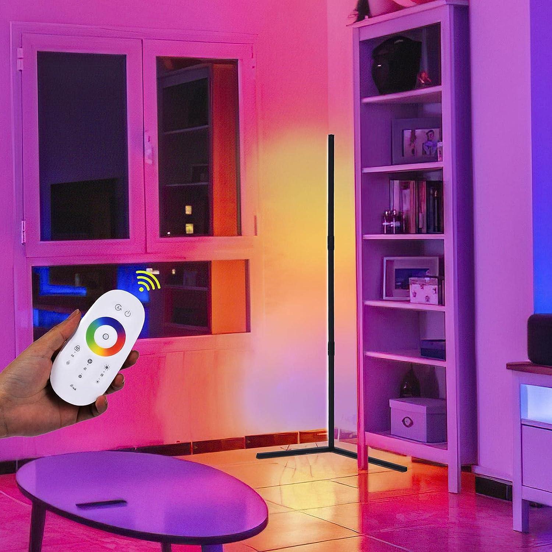 RGB Corner Atlanta Mall Floor Light - Modern LED Color Detroit Mall Changing for Lighting