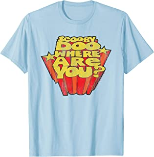 Scooby Doo Where Are You T-Shirt