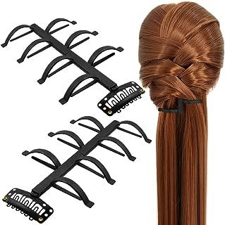 Shells Women Hair Braiding Tool Hair Twist Styling Clip Braider Hair Band Accessories Black