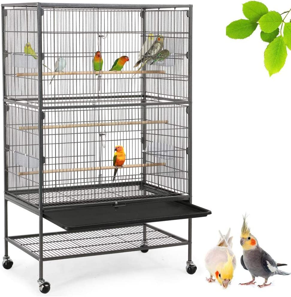 Yaheetech High quality new 52-Inch Wrought Iron Large Bird Chi Flight OFFicial mail order Ferret Cage