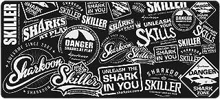 Sharkoon Skiller SGP2 XXL, tappetino per mouse da gioco, Nero