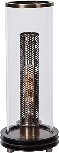 """discount Winslow high quality 17"""" High Brass and Black Uplight Accent Table wholesale Lamp online"""