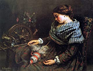 Gustave Courbet The Sleeping Spinner - 21