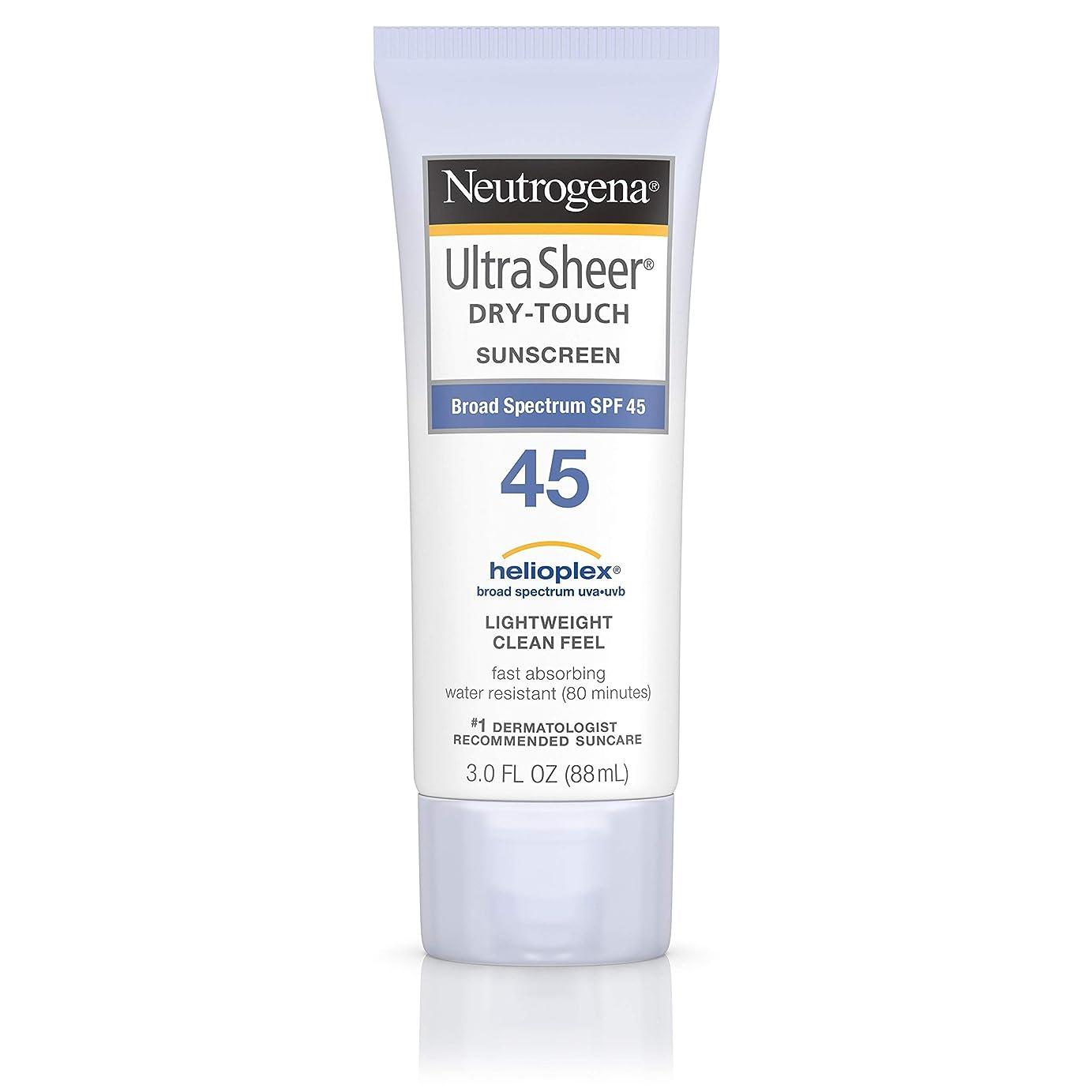 動機付けるスイス人機械的にNeutrogena Ultra Sheer dry-touch Sunscreen Broad Spectrum