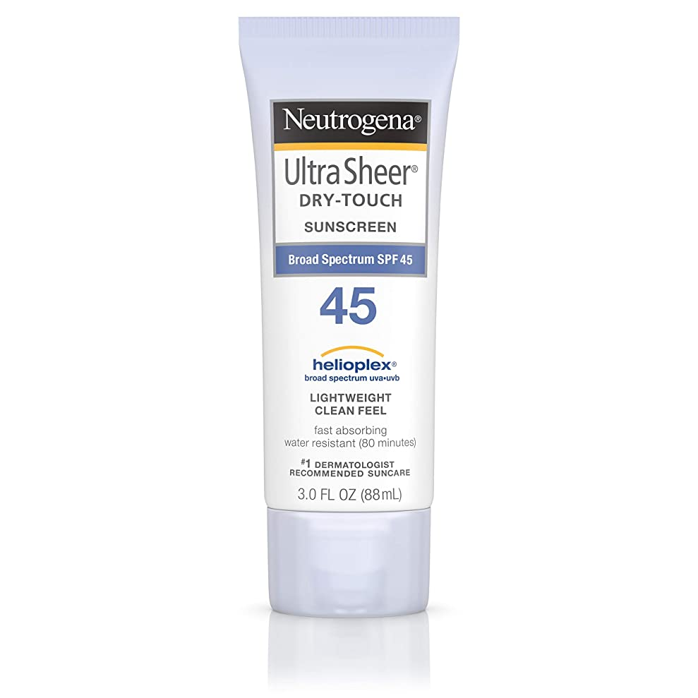 チャンピオンステレオタイプインデックス海外直送品 Neutrogena Neutrogena Ultra Sheer Dry-Touch Sunblock Spf 45【並行輸入品】