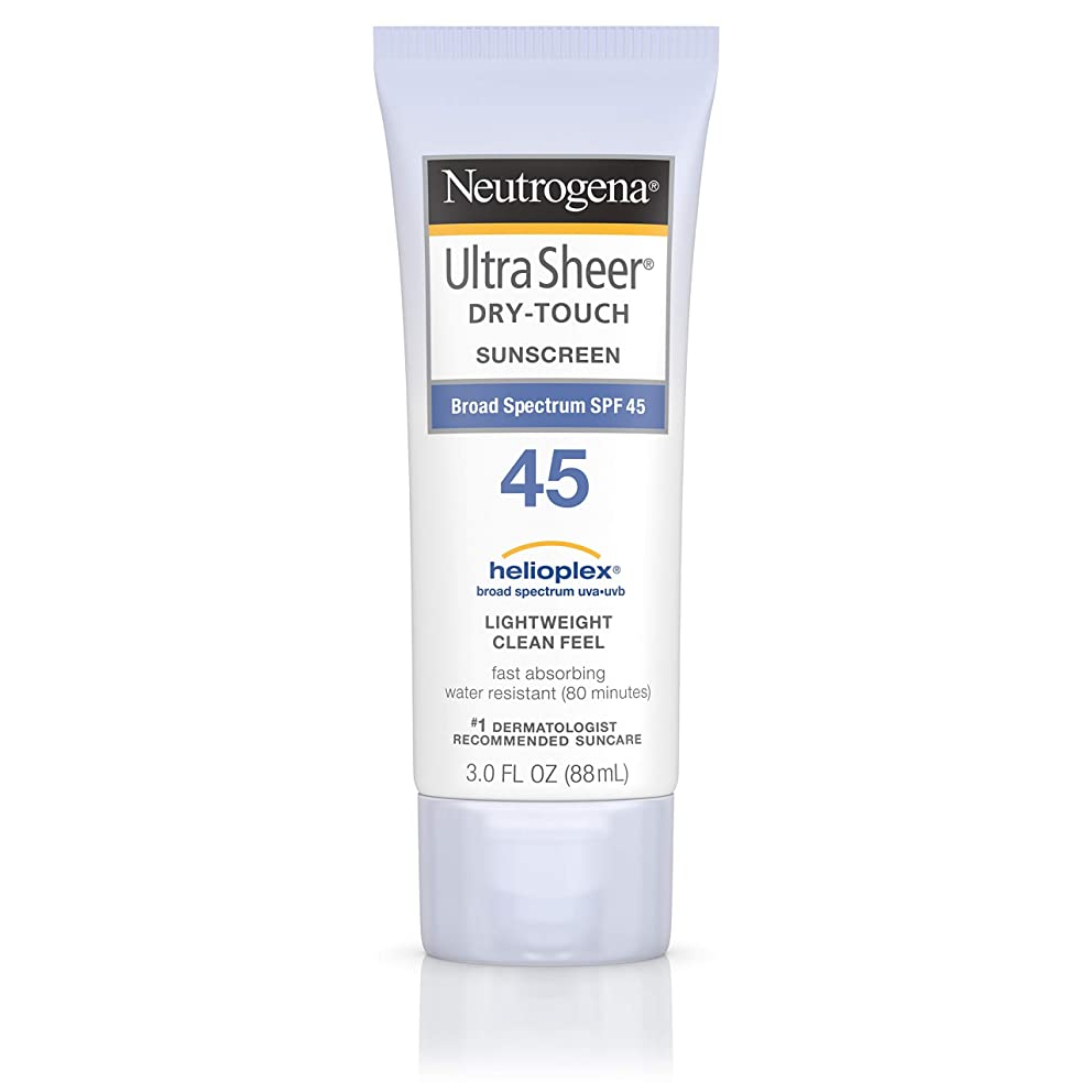 測定トライアスロン自分の力ですべてをする海外直送品 Neutrogena Neutrogena Ultra Sheer Dry-Touch Sunblock Spf 45【並行輸入品】
